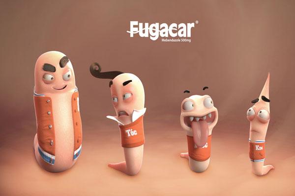 cách dùng thuốc tẩy giun Fugacar